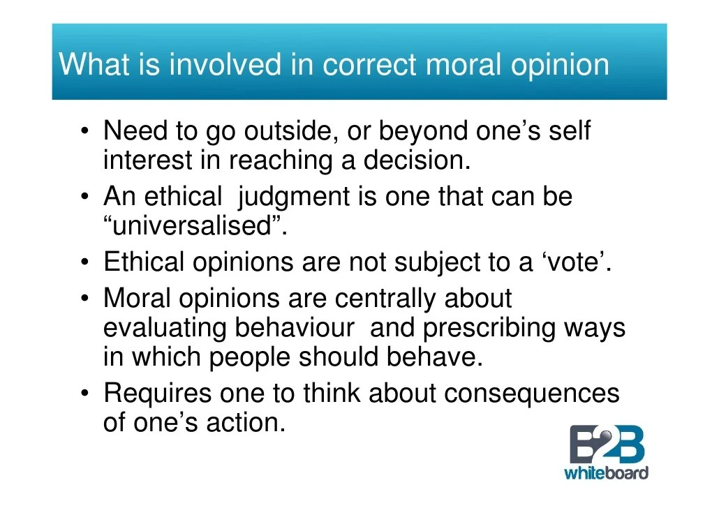 Ethical Decision Making in Business