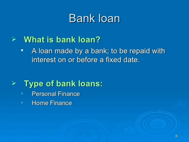 EXPERT SYSTEM FOR LOAN BY BANK