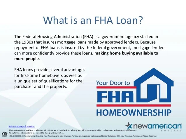 FHA Loan Facts for First-Time Homebuyers