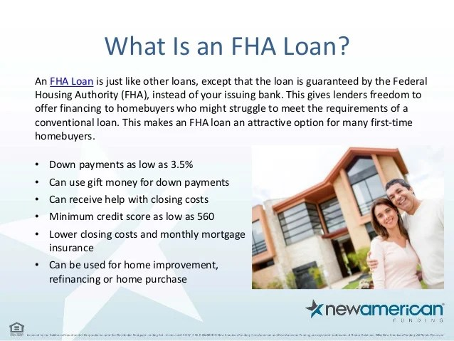 Choosing a Mortgage - FHA vs Conventional   New American Funding