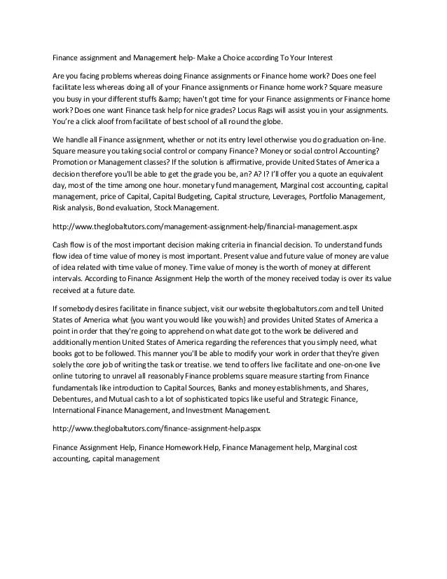 Assignment and - mfacourses719.web.fc2.com
