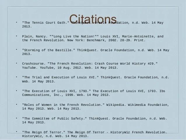 French Revolution Journal Entries (Karina Zeng)