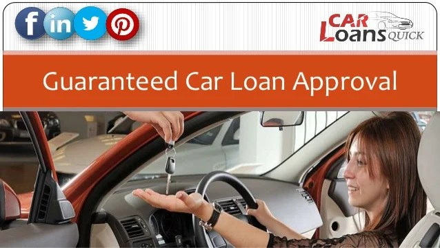 Guaranteed Auto Loans 100 Car Loan Approval For Bad Credit | Autos Post