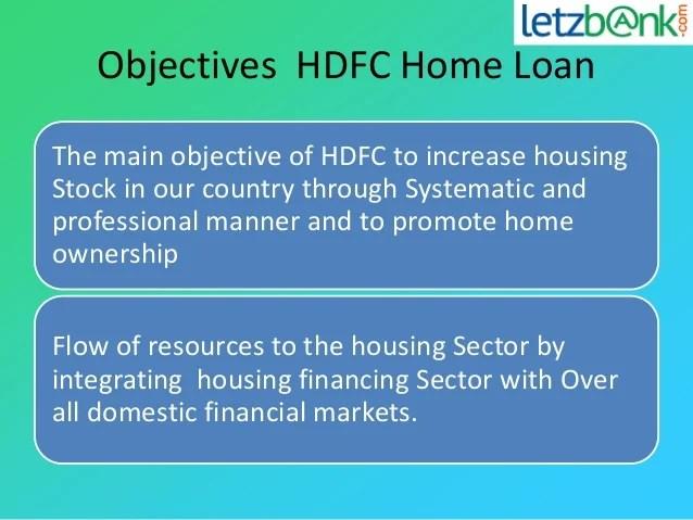 Get Hdfc Home Loan at lowest Interest rates | letzbank