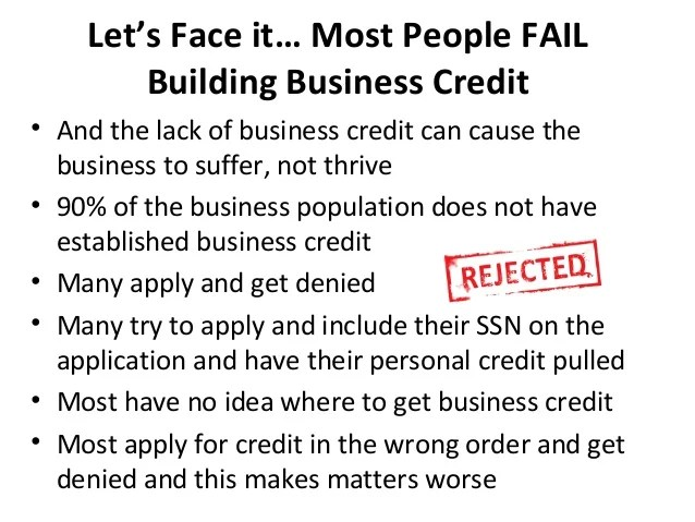 How to easily build business credit that's not linked to your SSN in