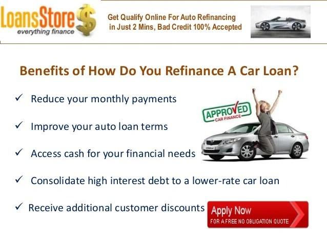How Do I Refinance My Car Loan