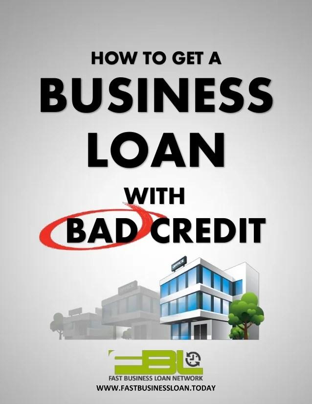 Merchant Cash Advance - Business Loan Bad Credit