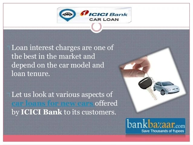 ICICI Bank Car Loan Offers