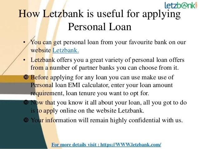Icici bank personal loan