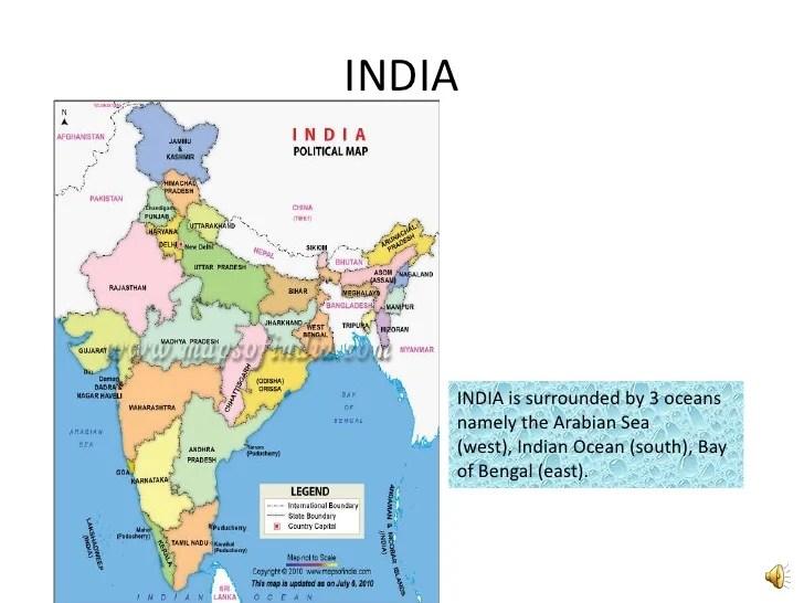 Indian seas and ocean