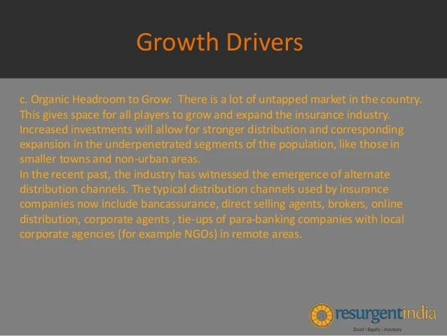 Indian Insurance Industry - Growth Drivers - Part - 3