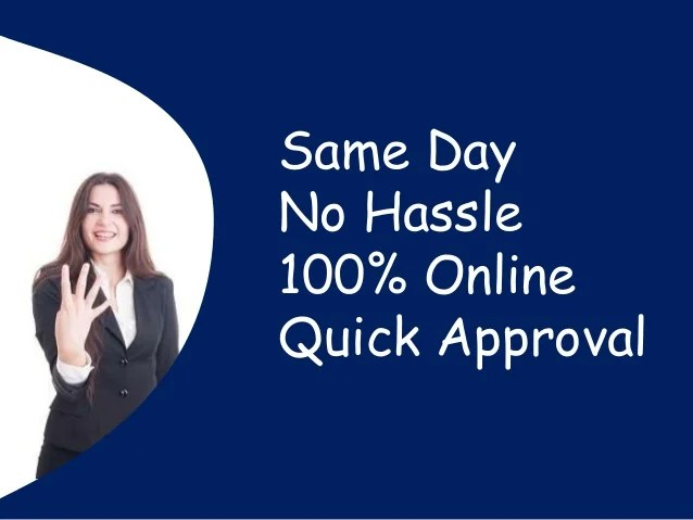 Installment Payday Loans With Easy Online Application Same Day