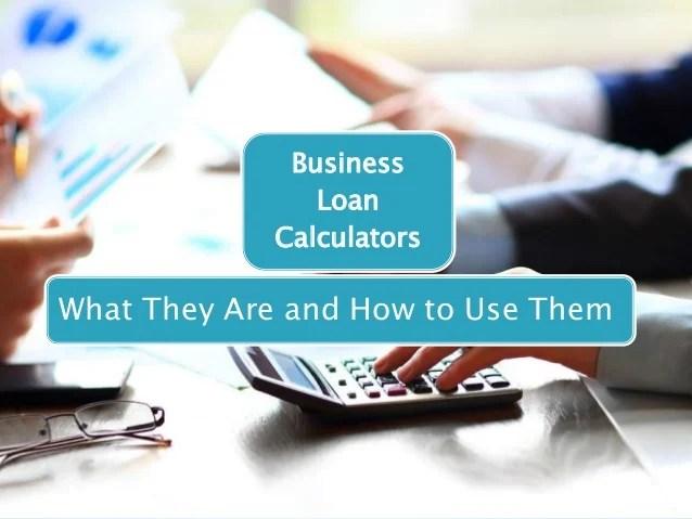 Understanding Business Loan Calculators