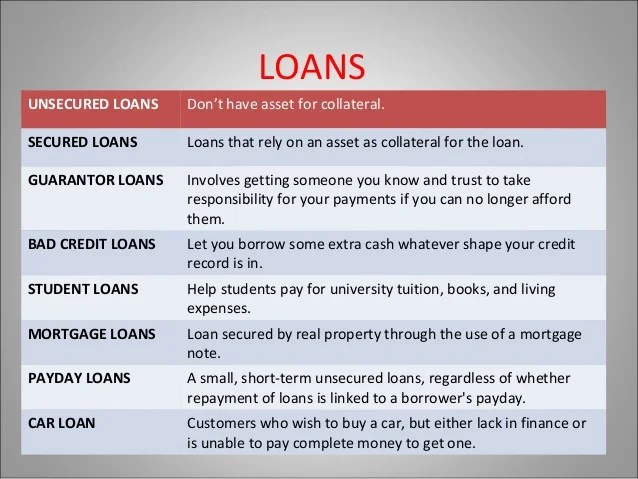 Kinds of loan- Catch the different types with Hogo Loans