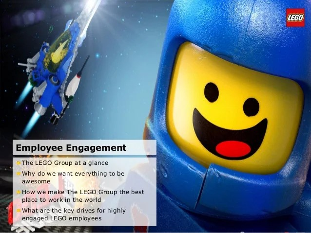 Lego presentation   The Use and Usefulness of Employee Engagement Sur        The LEGO Groups HR core processes     2