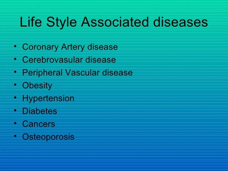 Lifestyle and heart disease