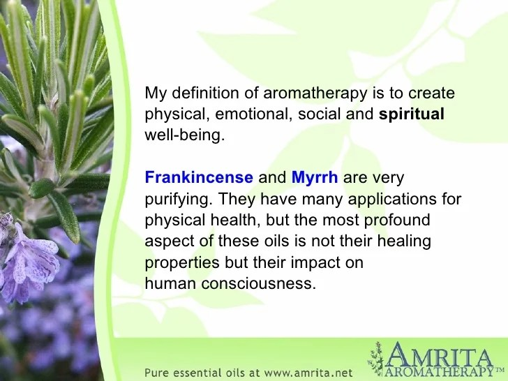 Frankincense and Myrrh - The Gift from the Magi