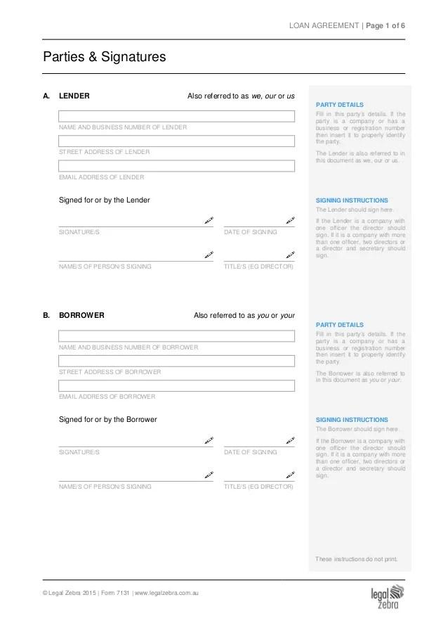 Loan agreement between lender, borrower & guarantor - Template Sample