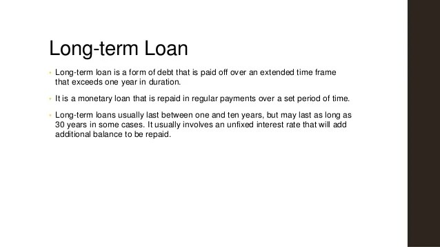 Long term loan policy kapol cooperative bank
