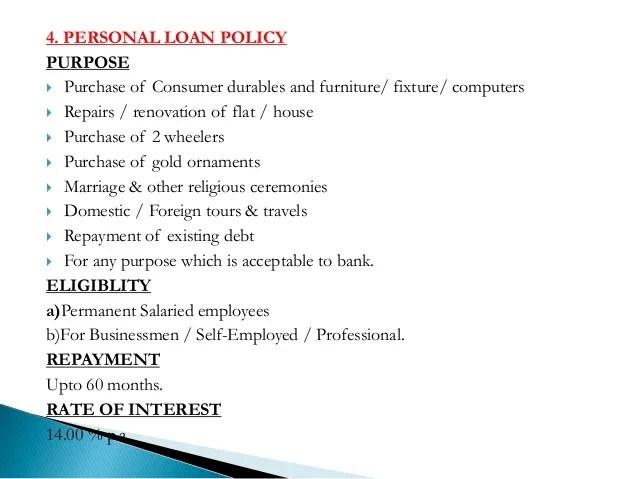 Long term Loan policy of Abhyduaya bank