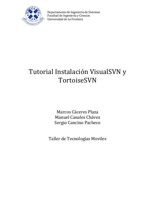 Manual de uso VisualSVN y Tortoisesvn