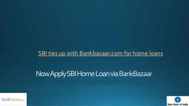 Now apply SBI Home Loan via BankBazaar