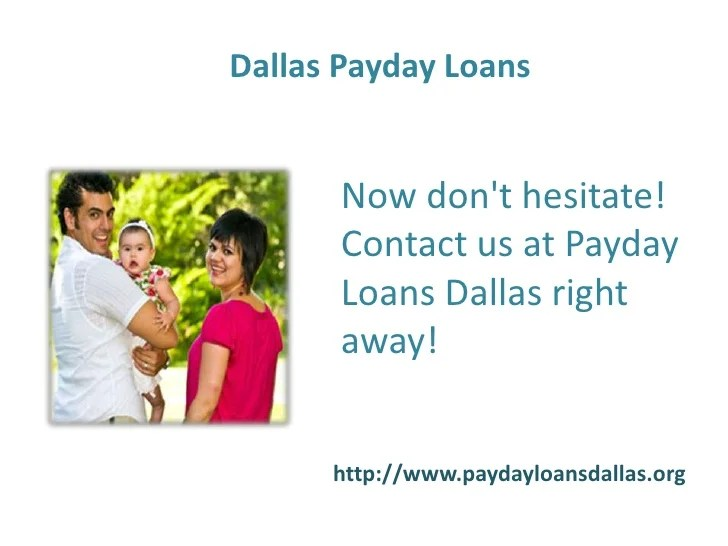 Payday Loans Dallas- Short Term Loans- No Credit Check Installment Lo…