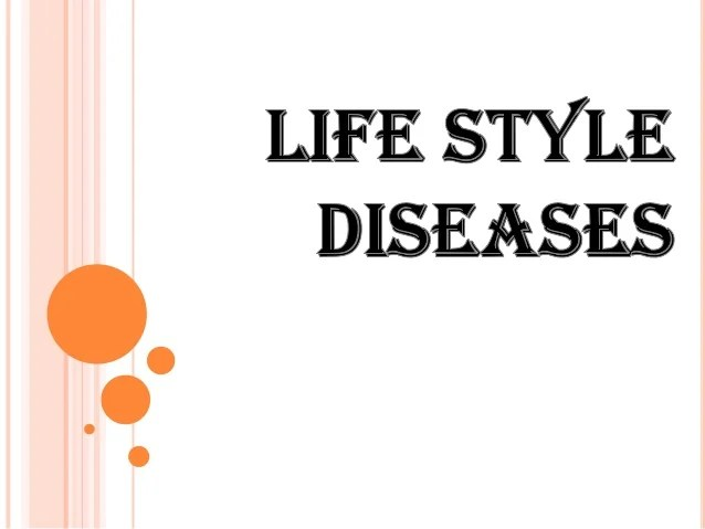 lifestyle diseases