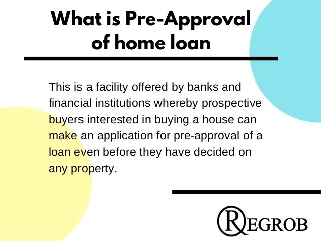 Pre approval home loan  call- 9529331331