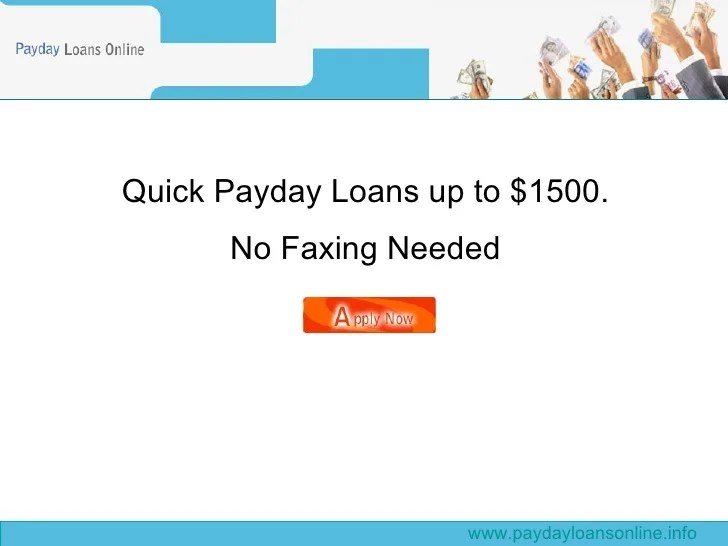 Quick payday loans online up to $1500 with no credit check and no fax…