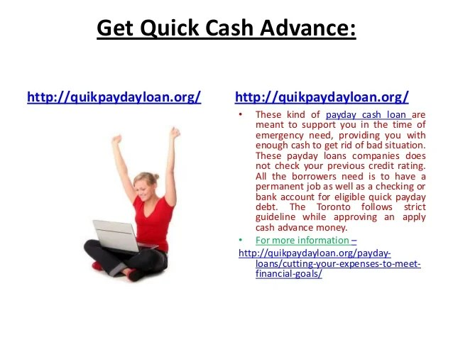 Quick payday loan usa – manage your financial