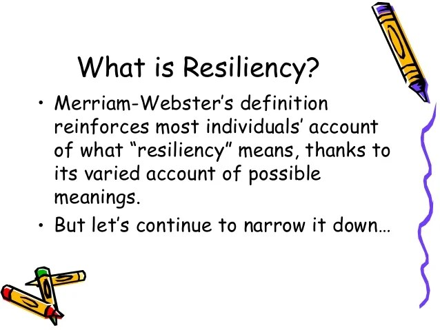Resilience in students