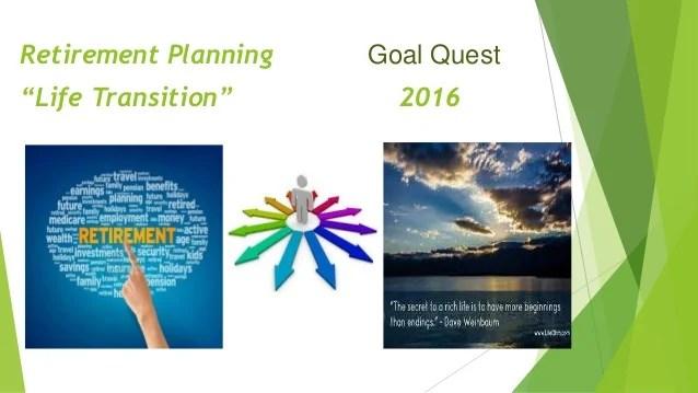 Retirement fin planners presentation nov 2015