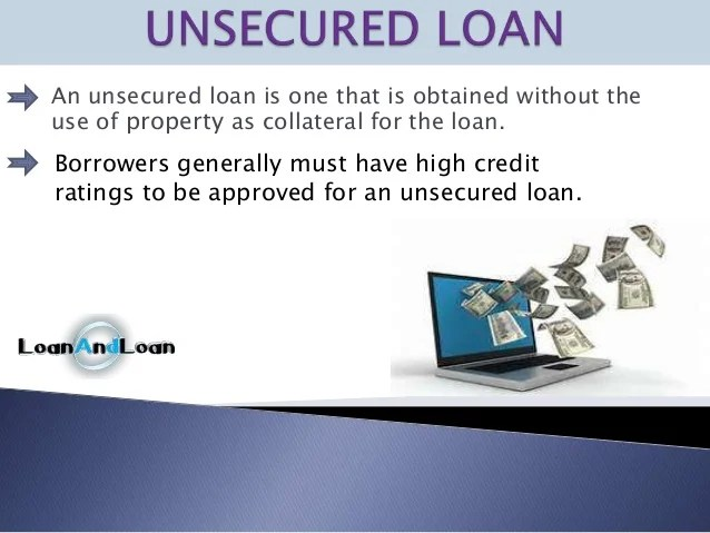 Secured vs unsecured loans all about borrowing money