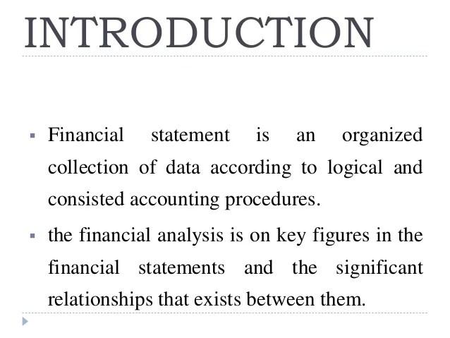 financial statement analysis ppt