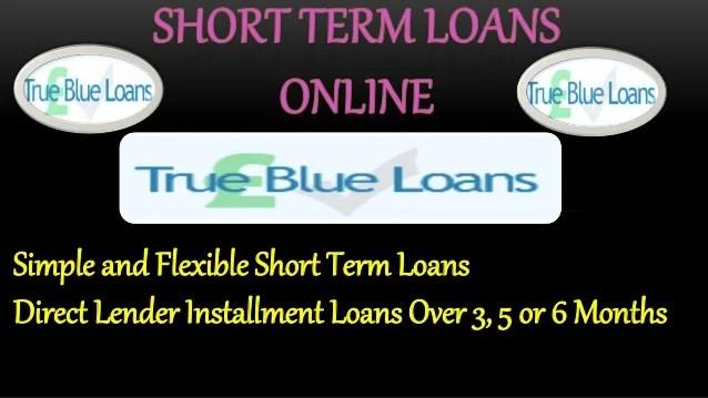 Short Term Loans Online