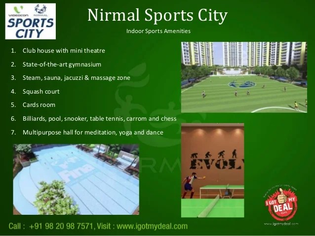 Nirmal LifeStyle Sports City Thane at LBS Marg - New ...