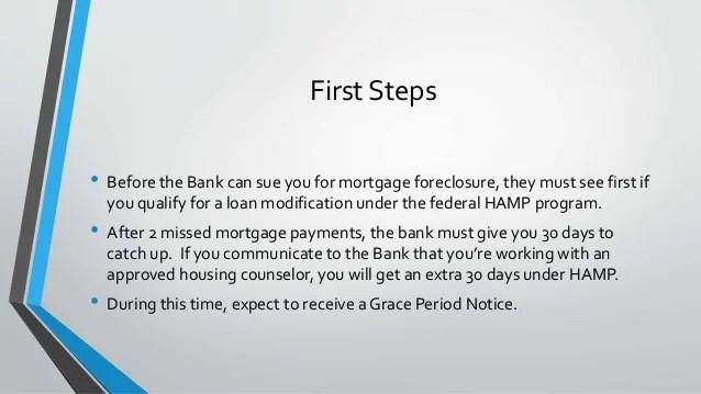 The foreclosure process in illinois