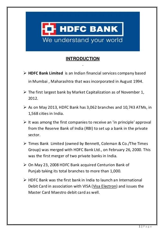 HDFC bank prestation (VIKAS PAWAR 9594195676)