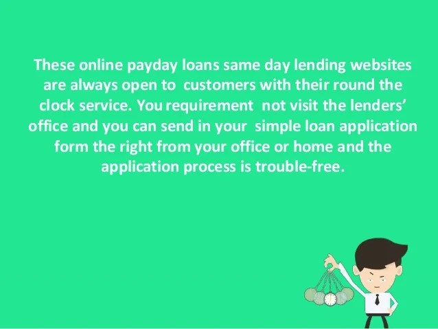 Online Payday Loans Same Day - Get Up To $1000 With 100% Guaranteed A…