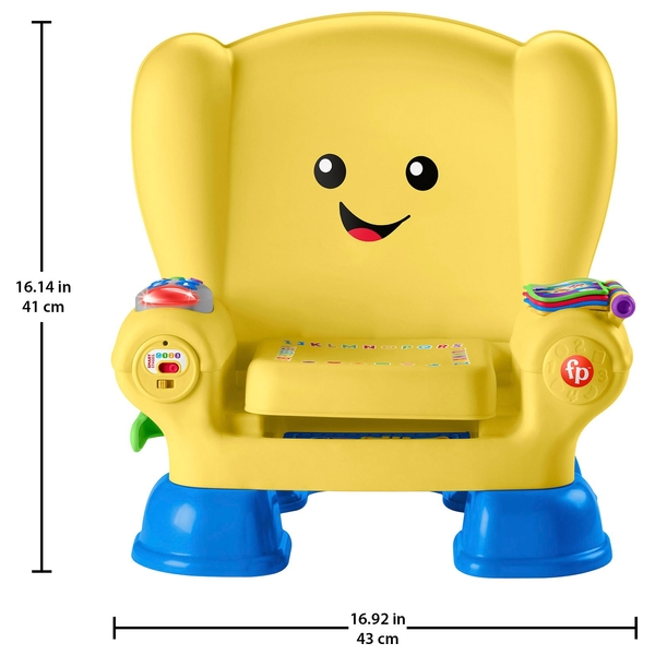 Fisher Price Laugh   Learn Smart Stages Activity Chair   Yellow     Fisher Price Laugh   Learn Smart Stages Activity Chair   Yellow