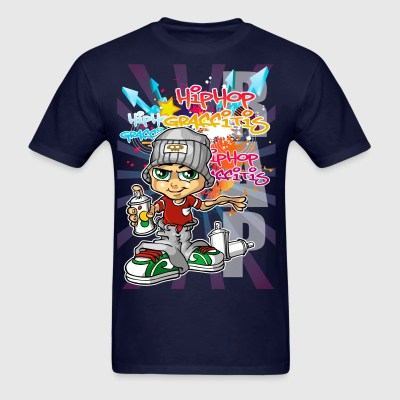Graffiti boy background T-Shirt | Spreadshirt