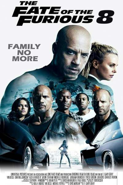 The Fate of the Furious (2017) - Posters — The Movie Database (TMDb)