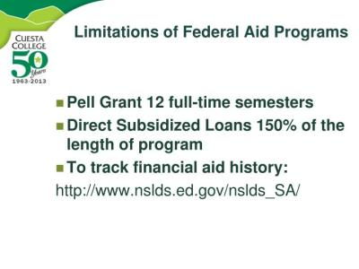 PPT - Funding Your Future Financial Aid Overview PowerPoint Presentation - ID:1640844