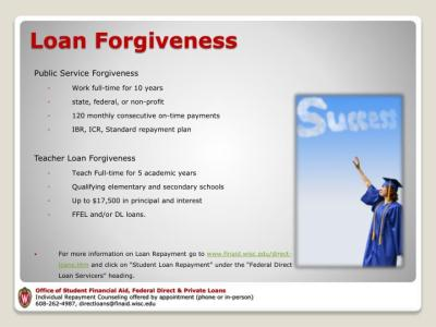 PPT - Manage Your Student Loans PowerPoint Presentation - ID:2655534