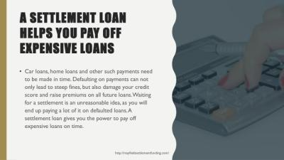 PPT - 5 Reasons to Use Settlement Loans PowerPoint Presentation - ID:7407642
