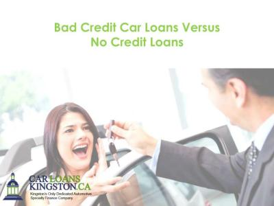 PPT - Bad Credit Car Loans Versus No Credit Loans PowerPoint Presentation - ID:7442105