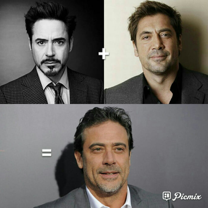 I can t be the only one who thinks Robert Downey Jr   Javier Bardem     I can  039 t be the only one who thinks Robert Downey Jr