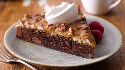 Caramel-Pecan Chocolate Dessert Recipe - BettyCrocker.com