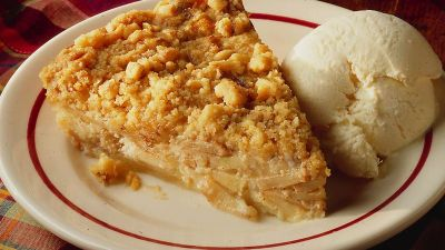 Impossibly Easy French Apple Pie recipe from Betty Crocker